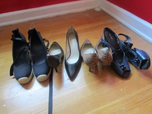 Exhibit A: Shoes I want to wear, but never actually wear.