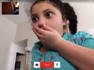 Ava surprised