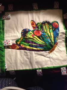 butterfly tag blanket