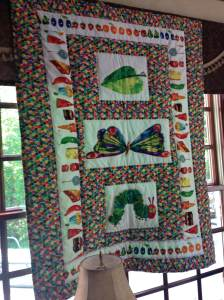 very hungry caterpillar quilt moon